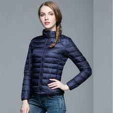 size 13 women 2016 90 white duck down jacket women ultra light coat warm winter