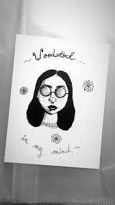Lana Del Rey Disegno Artwork Woodstock Ragazza Di Disegno Etsy