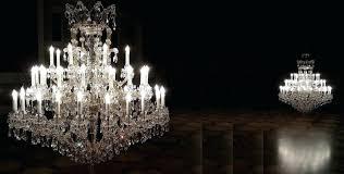 antique czech crystal chandeliers fascinating lighting setup