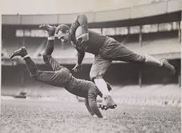 Vintage college football calendars