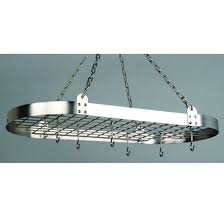 perfect how to hang drywall on a ceiling luxury pot racks oval hanging pot rack w grid chains 12 hooks than lovely how to hang drywall on a ceiling ideas