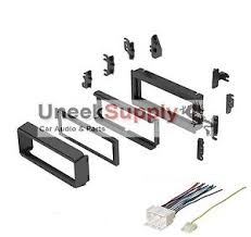 radio mounting stereo install installation single din wire harness image is loading radio mounting stereo install installation single din wire