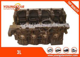 TOYOTA Hilux Dyna Hiace Iron Casting Engine Cylinder Block 3L 2.8L ...