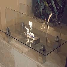 nu flame fiero modern ethanol fireplace nf f3fio