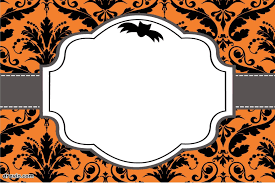 Blank Halloween Invitation Templates Free Printable Halloween Invitations Templates Halloween
