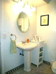 small bathroom pedestal sink ideas pedestal sinks for small bathrooms pedestal sink storage cabinet bathroom with small bathroom pedestal sink ideas