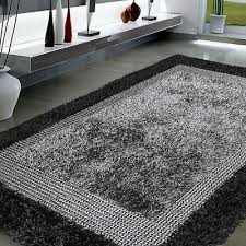 5 x 7 6 handmade modern area rug gray black contemporary