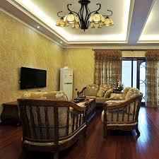 Living Room Pendant Light Mesmerizing Wotefusi Store 48V Tiffany Style Ceiling Light 48 Heads Chandelier
