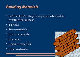 Building Materials ...