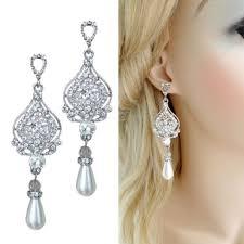 long rhinestone chandelier earrings terrific bridal chandelier earrings uk bridal chandelier earrings uk vintage style