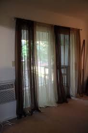 patio ideas patio door curtain panel with bamboo sliding ideas and from sliding patio door curtain