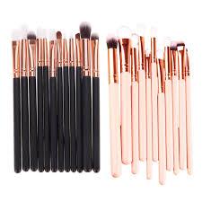 professional new 12pcs makeup brushed set eyeshadow foundation powder eye brush cosmetic makeup brushes tools