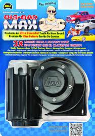 Bad Product Designs Wolo Mfg Corp Air Horns Air Horn Accessories Air Comprresors