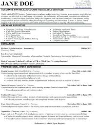 Entry Level Accounting Resume Accounting Resume Examples Entry Level