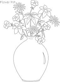 28 collection of flower pot drawing for kids high quality free e99c16d3a44df708f3473a951ea851ff flower pot coloring printable