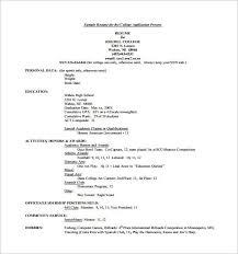 Technical resume (computer science/engineering) 5. 15 College Resume Templates Pdf Doc Free Premium Templates