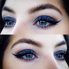 how to rock blue makeup looks blue makeup ideas tutorials