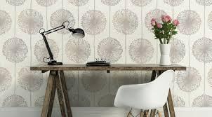 muriva dandelion fl wallpaper beige