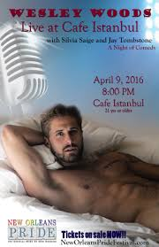 A Night of Comedy with Wesley Woods | Cafe Istanbul