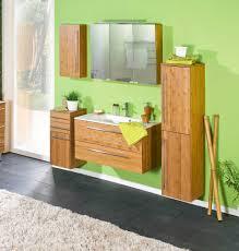 5 Tlg Badmöbel Set Bambus Massiv Kaufen Bei Lifestyle4living