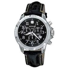 wenger urban class l2 watch for men save 54% wenger gst watch leather strap for men in black black closeouts