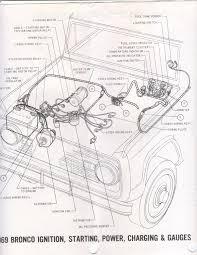 Volt gauge wiring diagram early bronco painless vdo speedometer fuel diagram