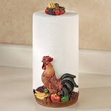 rooster medley paper towel holder multi earth touch to zoom