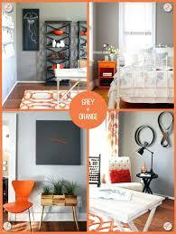 grey and orange bedroom orange and gray bedroom grey and orange bedroom walls