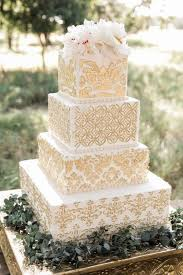 16 Unique And Eye Catching Square Wedding Cake Ideas Page 2 Of 2