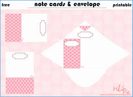 Free Printable Note Cards Template Free Printable Note Cards Template Cute 8 Best Of Note Card Envelope