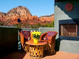 Spectacular Sedona Red Rock And Sunset. HomeAway West Sedona