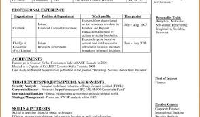 Banking Resume Sample From Resume Samples For Banking Professionals