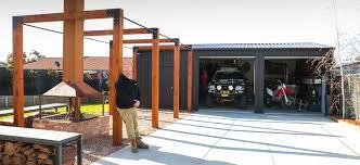 Design Garages West Gosford Build Your Sheds Barns Carports With Fair Dinkum Sheds