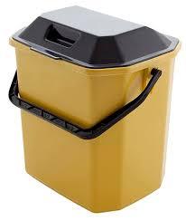 <b>Ведро для мусора</b>, пластиковое, с крышкой, 10 л | Купить с ...