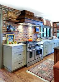 brick look glen thin kitchen effect tiles tile backsplash loo brick look