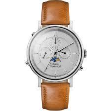 designer watches for women designer watches for men shop at vivienne westwood mens portland leather watch tan silver
