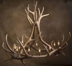 antler chandelier antler art and design