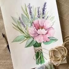 Пин от пользователя Ольга на доске цветы в 2019 г. | Watercolor ...