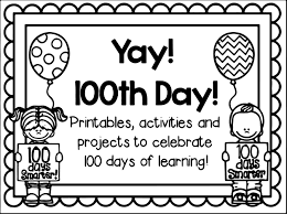 Small Picture 100th Day Of School Yay Coloring Page Wecoloringpage