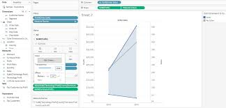 How To Create A Shaded Slope Chart In Tableau