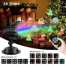Christmas Projector Lights Ebay Details About Christmas Led Projector Light Sgodde 16 Slides Projection Light With Remote