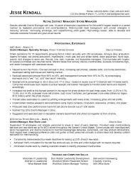 Retail Management Resume Examples 13 Retail Store Resume Examples For S  Associate Info ...