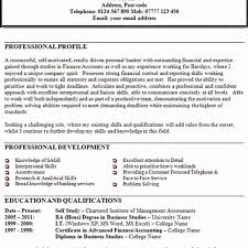Example Personal Summary Resume Best Of Personal Summary Example Cv