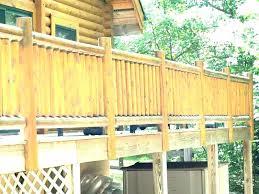diy deck railing riling ril mke posts nd frme diy deck railing