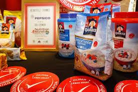quaker oats provide a healthier choice of meals