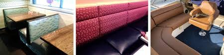 fort myers florida restaurant seating booth vinyl upholstery repair