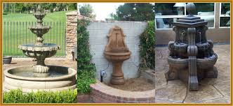 water fountains concrete los angeles ca garden fountains yard outdoor planters california fountains to you