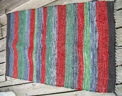handwoven rug by magnus wools peacham vermont