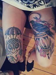 Inked Girls Tattoo Placement Inkables Knee Tattoo Girl Tattoos