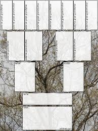 Diagram For Family Tree Free Printable Family Tree Diagrams